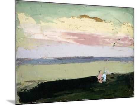 Coastal Scene at Sunset-Robert Henri-Mounted Giclee Print