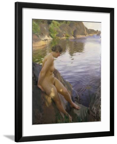 From Sandham-Anders Leonard Zorn-Framed Art Print