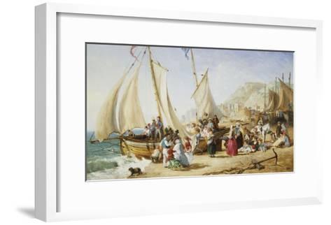 A Day Trip, Ramsgate-William Parrott-Framed Art Print