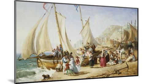 A Day Trip, Ramsgate-William Parrott-Mounted Giclee Print
