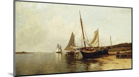 Calm Morning, Portland Harbor-Alfred Thompson Bricher-Mounted Giclee Print