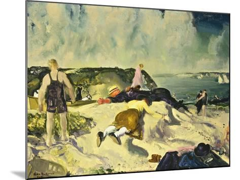 The Beach, Newport-George Wesley Bellows-Mounted Giclee Print