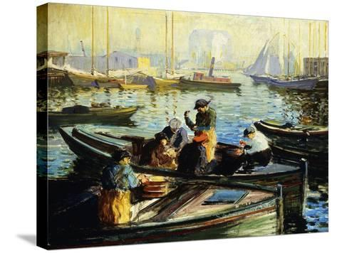 Boston Harbor-Arthur Clifton		 Goodwin-Stretched Canvas Print