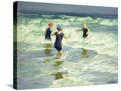 Three of a Kind-Edward Henry Potthast-Stretched Canvas Print