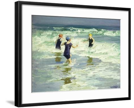 Three of a Kind-Edward Henry Potthast-Framed Art Print
