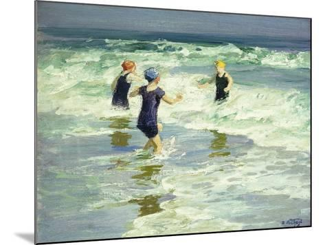 Three of a Kind-Edward Henry Potthast-Mounted Giclee Print