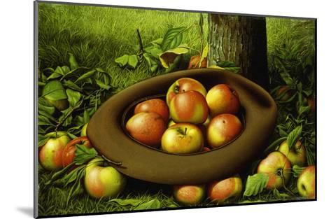 Apples in a Hat-Levi Wells Prentice-Mounted Giclee Print