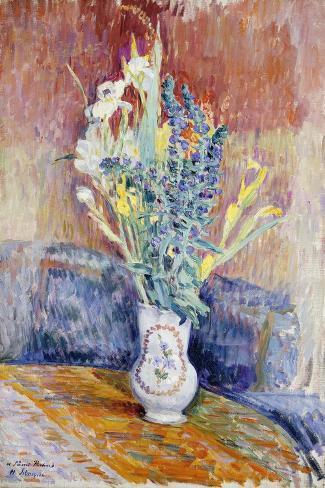 Flower Bouquet-Henri Lebasque-Stretched Canvas Print