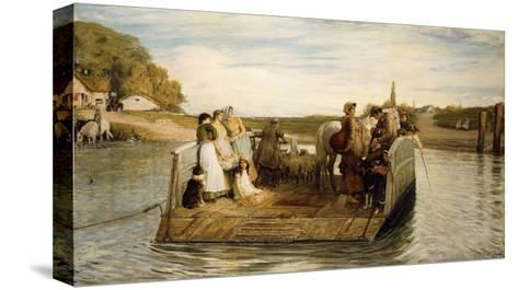 The Ferry-Robert Walker Macbeth-Stretched Canvas Print
