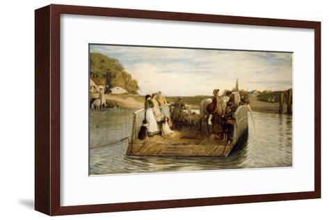 The Ferry-Robert Walker Macbeth-Framed Art Print
