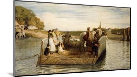 The Ferry-Robert Walker Macbeth-Mounted Giclee Print