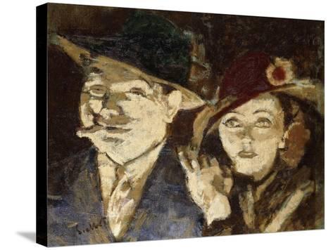 Jack and Jill-Walter Richard Sickert-Stretched Canvas Print