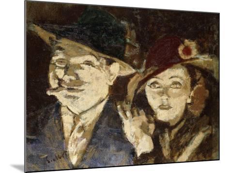 Jack and Jill-Walter Richard Sickert-Mounted Giclee Print