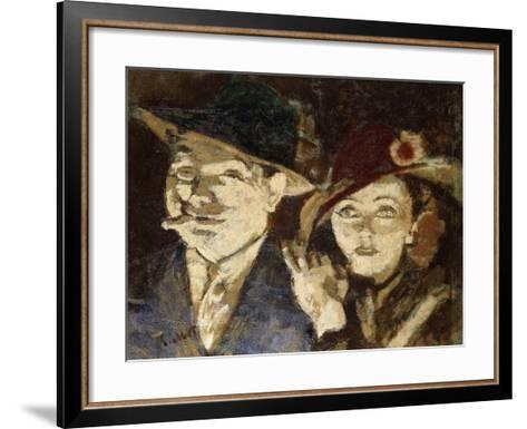 Jack and Jill-Walter Richard Sickert-Framed Art Print