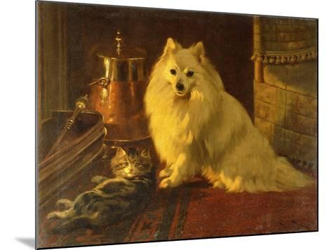 Best of Friends-Barker Wright-Mounted Giclee Print