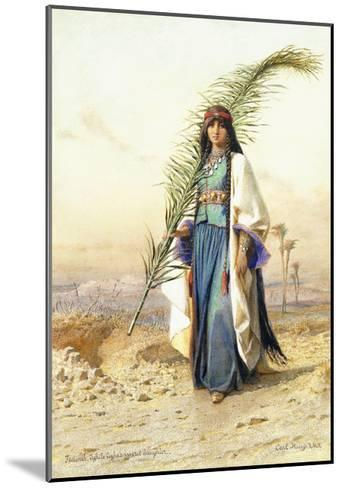 Fadimeh, The Daughter of Aghile Agha-Carl		 Haag-Mounted Giclee Print