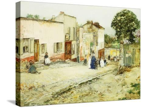 Confirmation Day-Childe Hassam-Stretched Canvas Print