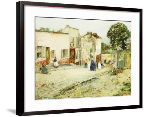 Confirmation Day-Childe Hassam-Framed Art Print