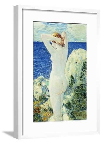 The Bather-Childe Hassam-Framed Art Print