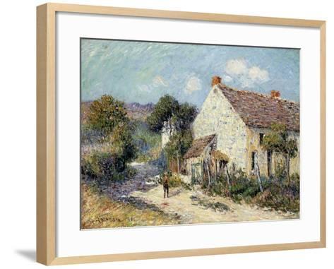 Landscape of Seine-et-Oise-Gustave Loiseau-Framed Art Print