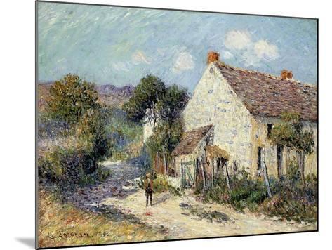 Landscape of Seine-et-Oise-Gustave Loiseau-Mounted Giclee Print