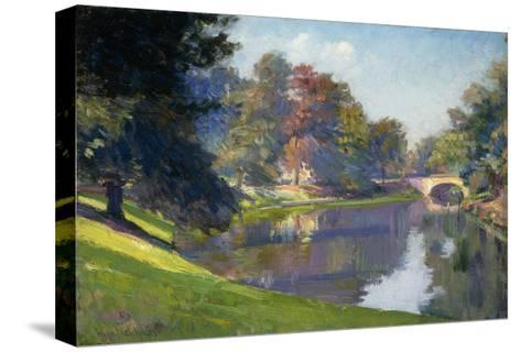 Le Bois de Bruxelles-Petitjean Hippolyte-Stretched Canvas Print
