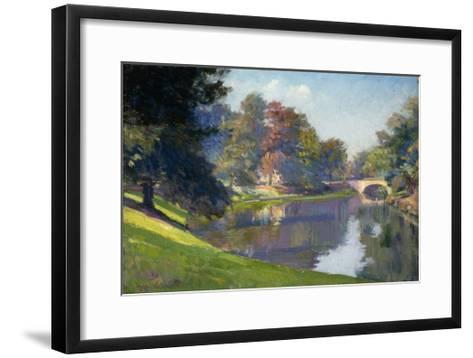 Le Bois de Bruxelles-Petitjean Hippolyte-Framed Art Print
