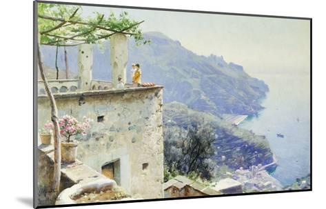 The Ravello Coastline-Peder Mork Monsted-Mounted Giclee Print