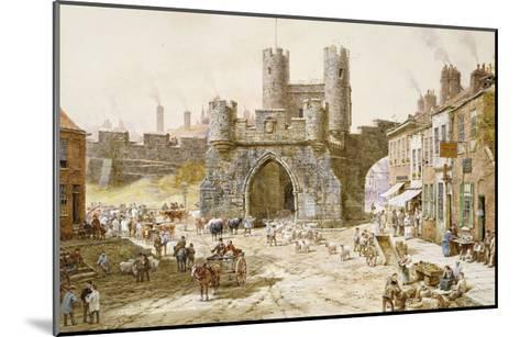 Walgate Bar, York-Louise Rayner-Mounted Giclee Print