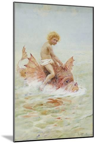 Riding Sea Monsters-Hector Caffieri-Mounted Giclee Print