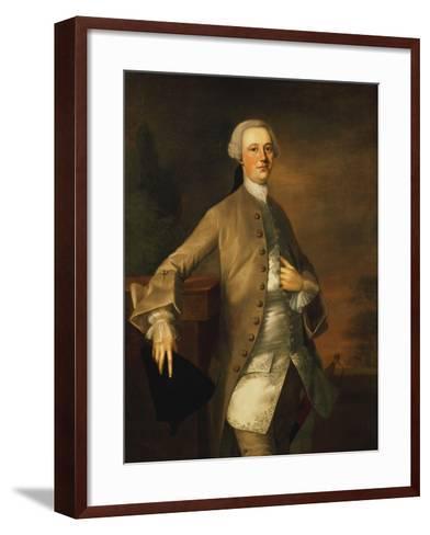 Portrait of David Garrick-Thomas Gainsborough-Framed Art Print