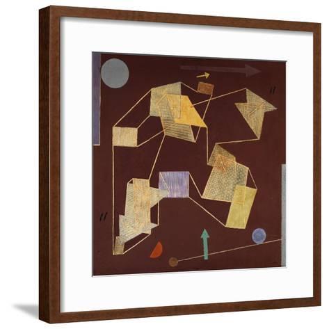 Buoyancy and Displacement (Soaring)-Paul Klee-Framed Art Print