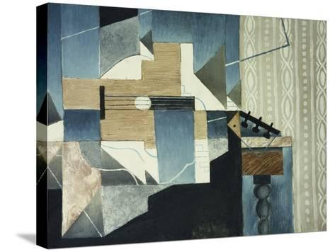 Guitar on Table-Juan Gris-Stretched Canvas Print