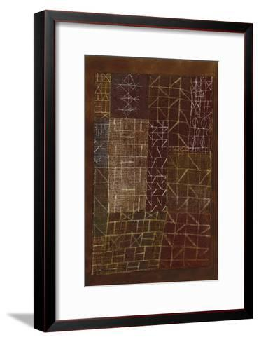 Curtain-Paul Klee-Framed Art Print