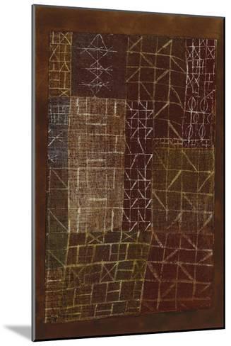 Curtain-Paul Klee-Mounted Giclee Print