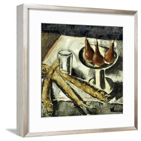 Still-life with Fish-Maurice Vlaminck-Framed Art Print