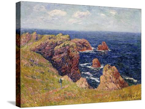The Brittany Coast--Stretched Canvas Print