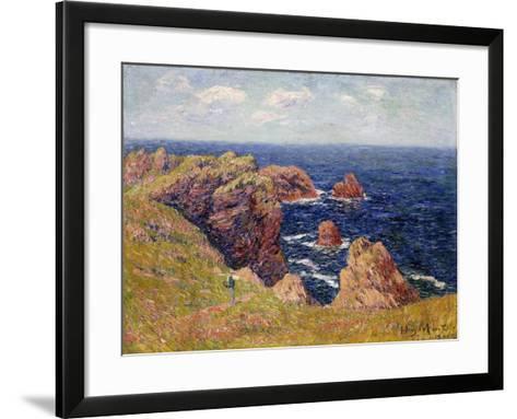 The Brittany Coast--Framed Art Print