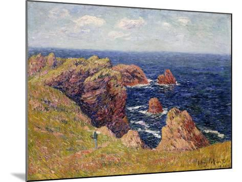 The Brittany Coast--Mounted Giclee Print