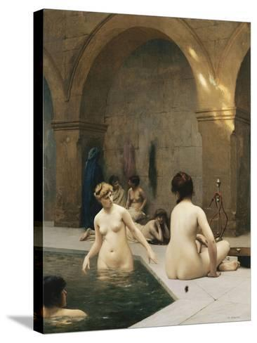 The Bathers-Jean Leon		 Gerome-Stretched Canvas Print