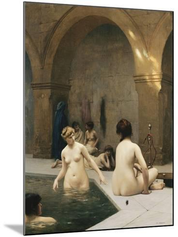 The Bathers-Jean Leon		 Gerome-Mounted Giclee Print