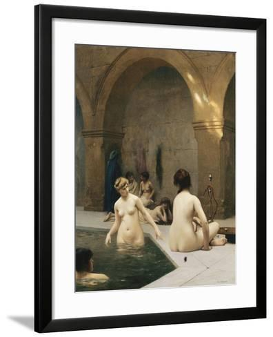 The Bathers-Jean Leon		 Gerome-Framed Art Print