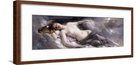 Luna-Leon Francois Comerre-Framed Art Print