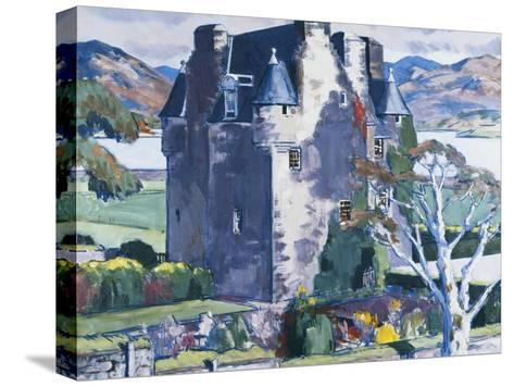 Barcaldine Castle, Argyll-Francis Campbell Cadell-Stretched Canvas Print