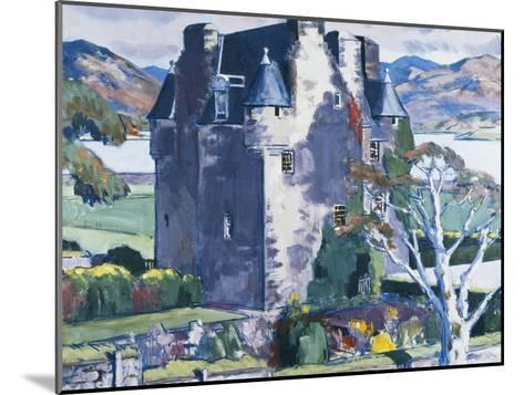 Barcaldine Castle, Argyll-Francis Campbell Cadell-Mounted Giclee Print