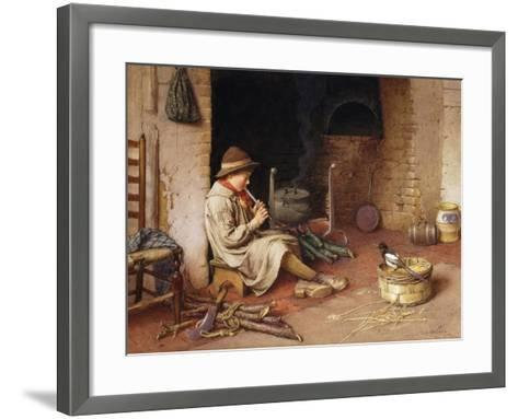 Idle Moments-Charles Edward		 Wilson-Framed Art Print