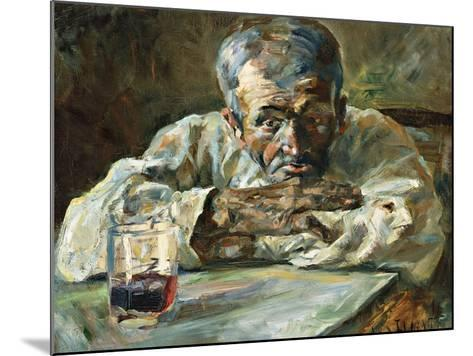 The Alcoholic, Father Mathias-Henri de Toulouse-Lautrec-Mounted Giclee Print