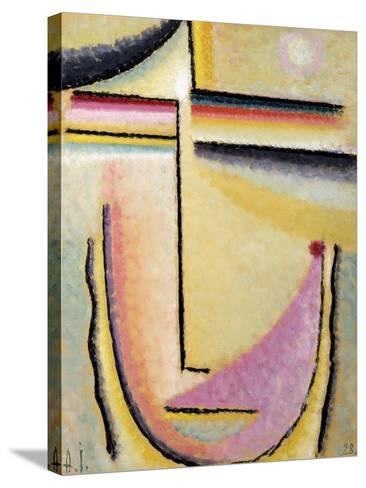 Abstract Head-Alexej Von Jawlensky-Stretched Canvas Print