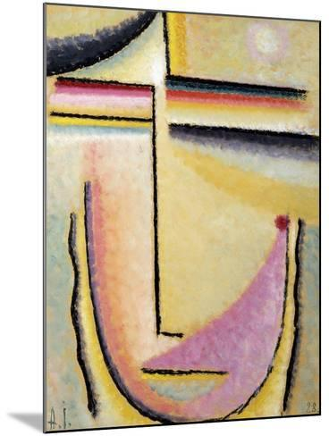 Abstract Head-Alexej Von Jawlensky-Mounted Giclee Print