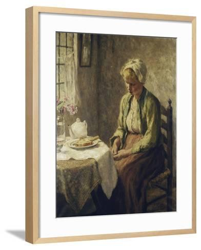 Grace before the Meal-Evert		 Pieters-Framed Art Print